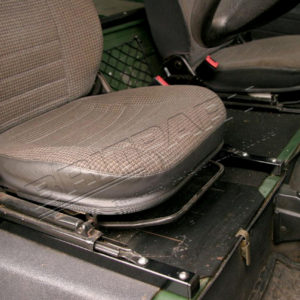 Defender Seat Raising Kit.