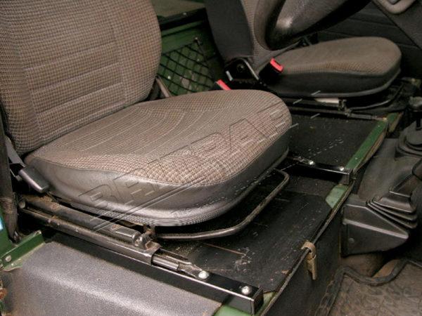 Defender Seat Raising Kit.